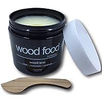 """""""Wood Food"""" Cera para tablas de cortar, muebles y juguetes para niños (Coco - 180ml)"""