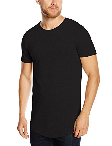 JACK & JONES PREMIUM Herren T-Shirt Jjprhugo Tee Ss Crew Neck Exp, Gr. X-Large, Schwarz
