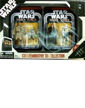 Star Wars Commemorative Tin Collection Episode 3 figure set