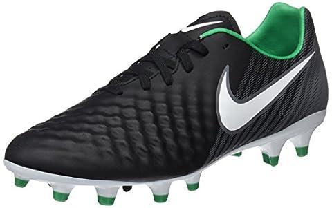 Nike Herren Magista Onda II FG Fußballschuhe, Schwarz (Black/White-Dark Grey-Stadium Green), 44.5