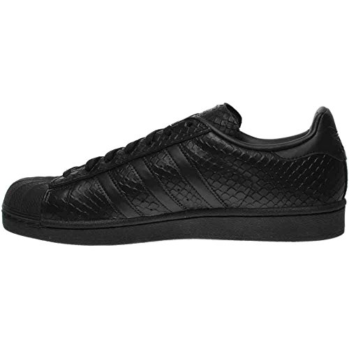 Adidas Womens Superstar S76147 Leather Trainers Black