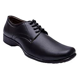 John Karsun Mens Black Formal Shoes -12