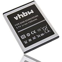 Batteria LI-ION per SAMSUNG Galaxy Y, GT-S5360, GT-S5380, GT-S5380D, GT-S5368, Galaxy Y Duos, Wave Y etc. sostituisce EB454357VU, EB454357VA 1300mAh