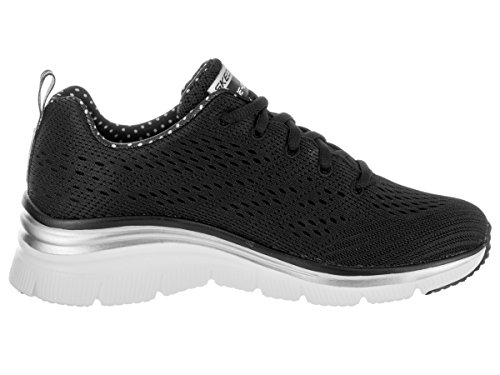 Skechers Fashion Fit Statement Piece, Scarpe da Ginnastica Donna Nero
