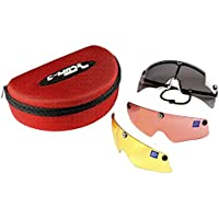CASTELLANI C-MASK montatura per occhiali da TIRO + 3 lenti INTERCAMBIABILI