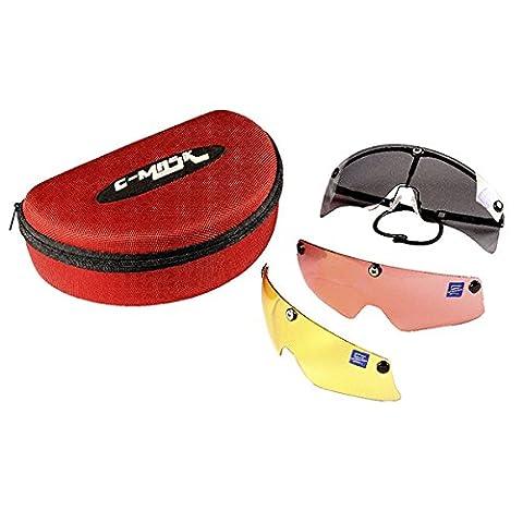 Castellani c-mask Lens for Shooting Glasses + 3Interchangeable Lenses