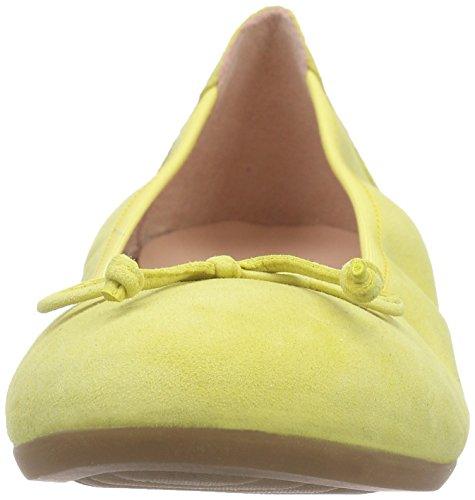 Unisa Casia_16_ks, Ballerines Fermé fille jaune (CITRON)