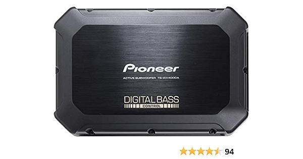 Pioneer Ts Wx400da Class D Aktivsubwoofer Mit Digitaler Bassregelung Für Tiefedynamische Bässe 250 W 2 Frei Wählbare Bassmodi Schwarz 300 X 100 X 200 Mm Audio Hifi