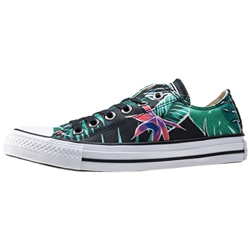 Converse Ctas Ox, Sneakers Femme Multicolore (Menta/black/white)