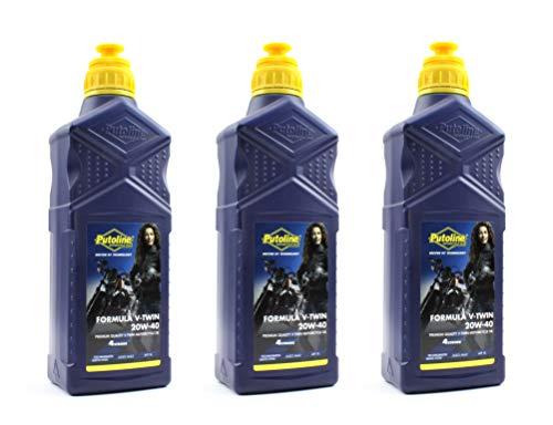 BISOMO 3 Liter Öl Putoline Formula V-Twin 20W-40 Motorradöl teilsynthetisch - EUR 11,97 / L...