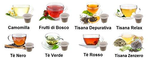KIT ASSAGGIO TE' & TISANE Lovespresso NESPRESSO - KIT ASSAGGIO 80 Capsule di tè & tisane compatibili nespresso*