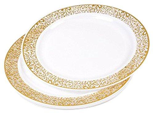 Diner Presque Parfait 6Teller Spitze 19cm gold