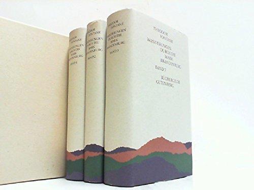 Wanderungen durch die Mark Brandenburg, Band 1-3, Hg. Helmuth Nürnberger,