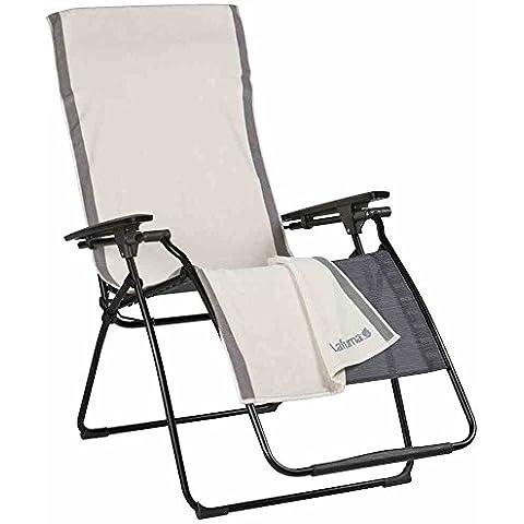 Lafuma - Cubierta para sillas plegables, color crema
