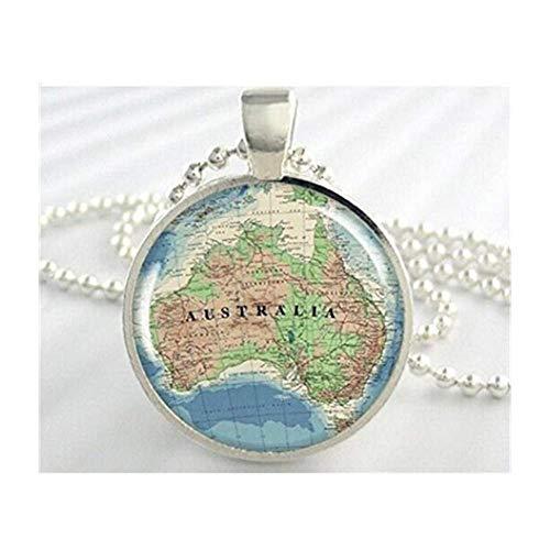 y Halskette mit Anhänger Kunstharz, Silberfarben ()