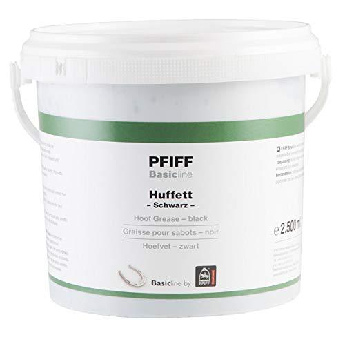 Pfiff Basicline Huffett, Pferde Hufpflege, Lorbeerextrakt, Wachse, schwarz, 2500 g