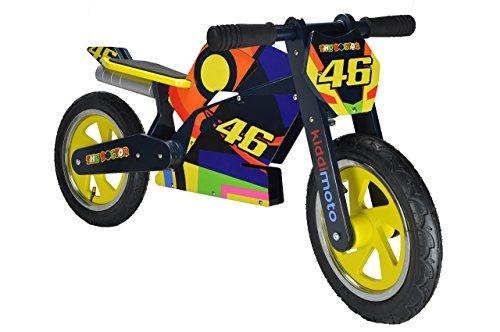 Preisvergleich Produktbild kiddimoto 2her346 - Heroes Superbike Laufrad Valentino Rossi VR46