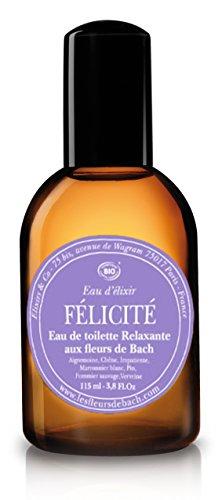 Elixirs & Co Eau d'Elixir Félicité Eau de toilette Relaxante aux Fleurs de Bach BIO 115 ml