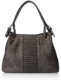 MG Collection Cutout Woven Tote Bag