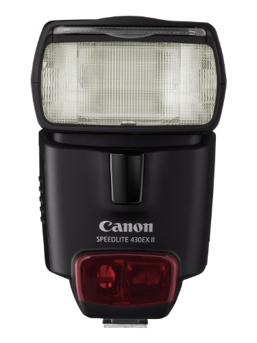 Canon  Speedlight 430EX II - Flash con zapata, color negro (importado)