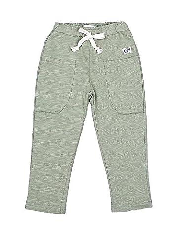 Oceankids Olive Pantalon Slack De Jogging Décontracté En Tricot Coton Taille Elastiquée Garçon 3 Ans