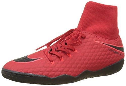 Nike Herren Hypervenomx Phelon 3 DF IC Fußballschuhe, Rot (University Red/Bright Crimson/Black 616), 38.5 EU -