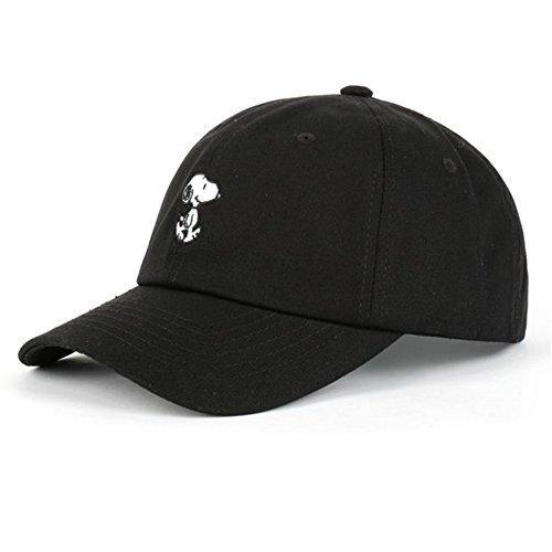 myglory77mall Sport-Fernlastfahrer-Baseball-Hüte der Herren Einheitsgröße Schwarz
