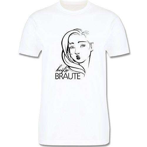 Statement Shirts - Heiße Bräute - Herren Premium T-Shirt Weiß