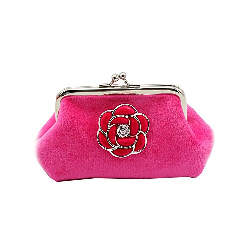 Longra Donne Borsa Camellia flanella Zero Rosa caldo Aclaramiento De Llegar A Comprar Mejor Lugar Precio Barato Venta Barata Más Reciente Comprar cyh5md4XvY