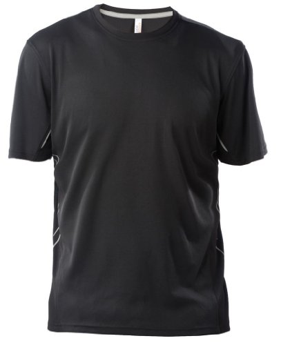 Funktionelles Sport T-Shirt Black/Silver
