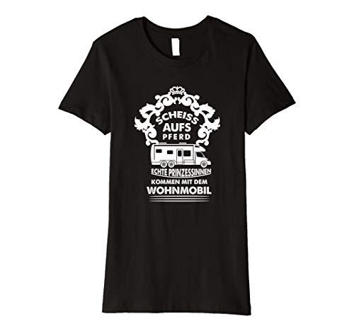 Prinzessin kommt mit dem Wohnmobil T Shirt |Camping | tshirt