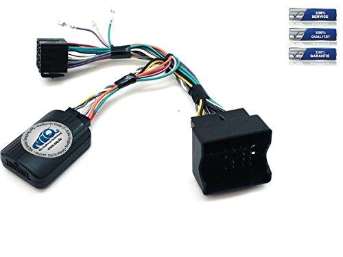 JVC CAN-BUS Lenkrad Fernbedienung Adapter Seat Altea / Ibiza / Leon / Toledo