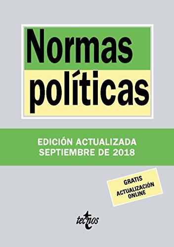 Normas políticas (Derecho - Biblioteca De Textos Legales) por Editorial Tecnos