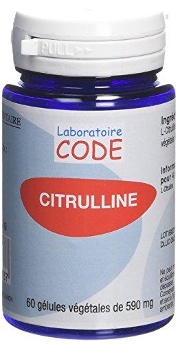Laboratoire Code Citrulline 60 Gélules
