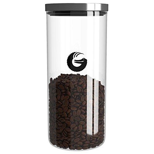 Coffee Gator Aufbewahrungsbehälter für 455g Kaffeebohnen/380g Gemahlenen Kaffee und Tee/35...