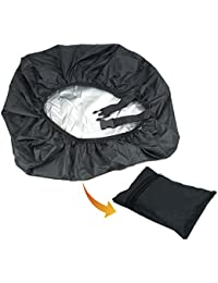 Rain Cover & Dust Cover With Pocket For Laptop Bags And Backpacks -Black