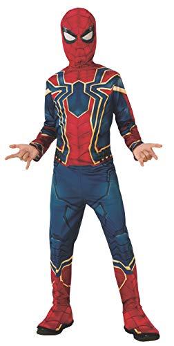 Rubie's Offizielles Avengers Iron Spider Kinderkostüm Spiderman, Größe S, Alter 3–4, Höhe 117 cm