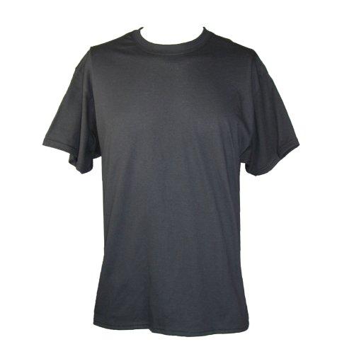 hanes-maglietta-sportiva-basic-uomo-nero-x-large