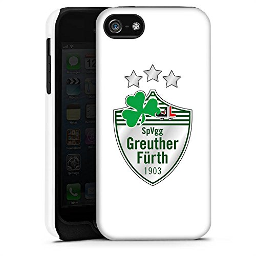 Apple iPhone X Silikon Hülle Case Schutzhülle Greuther Fürth Fanartikel Bundesliga Fußball Tough Case matt