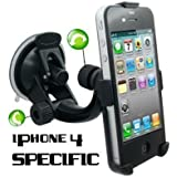 Neotechs� Windscreen Car Holder Suction Mount Cradle GPS for Apple iPhone 4 4G 4S
