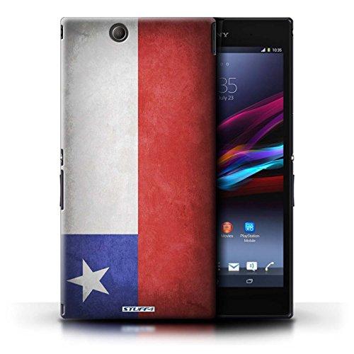 Kobalt® Imprimé Etui / Coque pour Sony Xperia Z Ultra / Suisse conception / Série Drapeau Chili/Chiliean