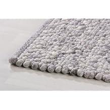 Taracarpet Handweb Teppich Stone 33 Stahl