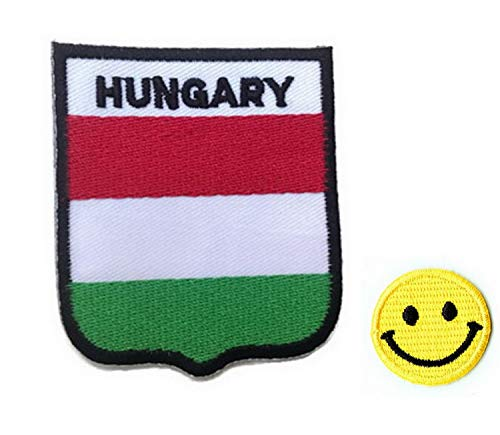 Hungría FLAG apliques hierro bordado parches PATCH