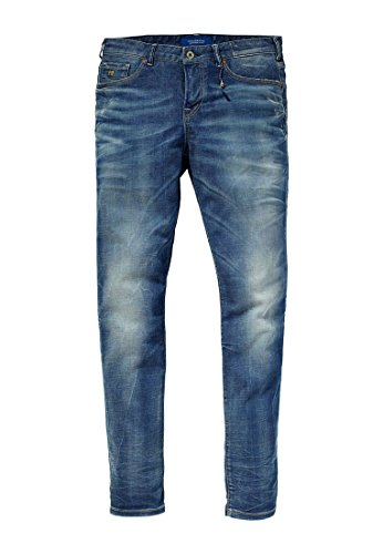 Scotch & Soda - Jeans - Homme Bleu Bleu Bleu - Bleu