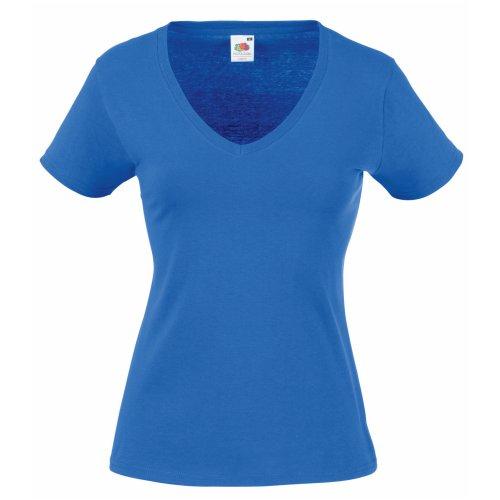 Fruit of the Loom Damen Pullover Blau Königsblau L