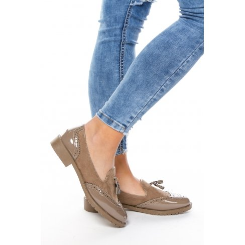 Princesse boutique - Derbies KHAKI Kaki