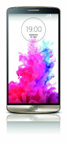 LG G3 Smartphone (5,5 Zoll (14 cm) Touch-Display, 16 GB Speicher, Android 4.4) gold (Handy-ersatz-bildschirm Lg)