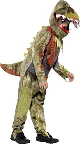 n Tödlicher Dinosaurier Deluxe Kostüm, Overall und Kopfbedeckung, Größe: L, 44294 (11 Jahre Alten Jungen Halloween Kostüm Ideen)