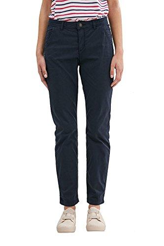 edc by ESPRIT 997CC1B809, Pantalones Mujer, Azul (Navy), W38/L30 (Talla del fabricante: 38/SHO)