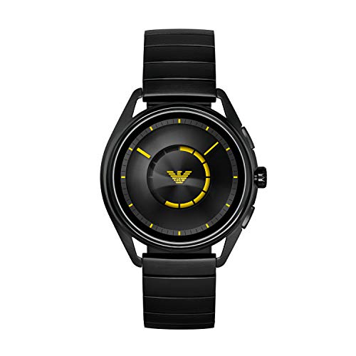 Emporio Armani Smartwatch Uomo con Cinturino in Acciaio Inox ART5007
